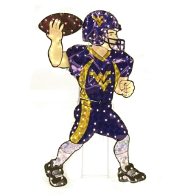 West Virginia Mountaineers Animated Lawn Figure