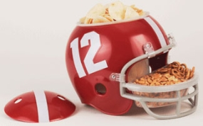 Alabama Crimson Tide Snack Helmet