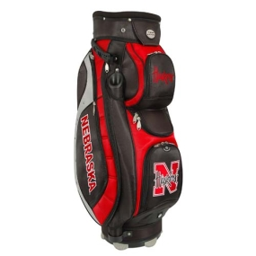 Nebraska Cornhuskers Letterman's Club II Cooler Cart Golf Bag