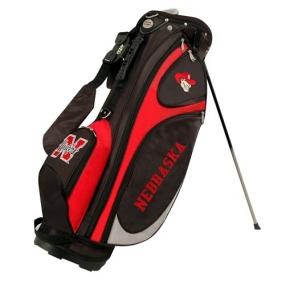 Nebraska Cornhuskers GridIron Stand Golf Bag