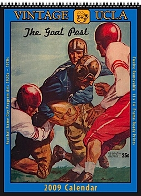 UCLA Bruins 2009 Vintage Football Program Calendar