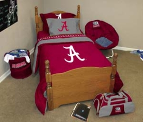 Alabama Crimson Tide Twin Size Bedding In A Bag