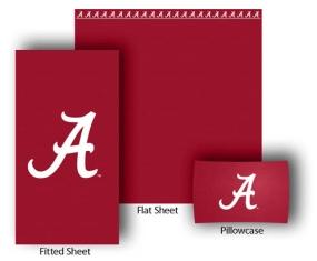 Alabama Crimson Tide Full-Queen Size Sheet Set