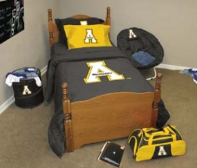 Appalachian State Mountaineers Queen Size Bedding In A Bag