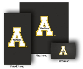 Appalachian State Mountaineers Full-Queen Size Sheet Set