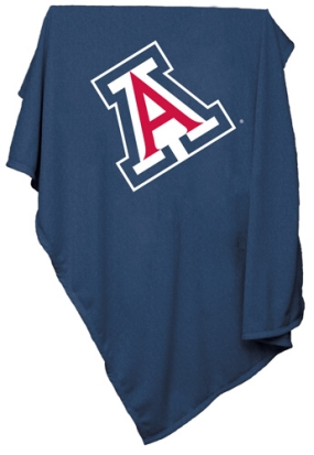 Arizona Wildcats Sweatshirt Blanket