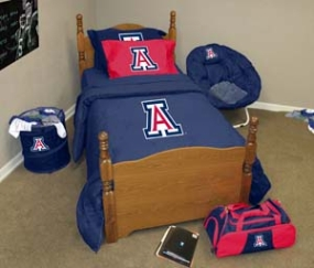 Arizona Wildcats Twin Size Bedding In A Bag
