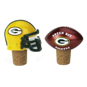 Green Bay Packers Bottle Cork Set