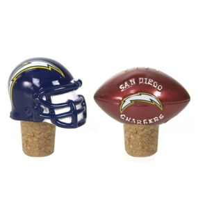 San Diego Chargers Bottle Cork Set