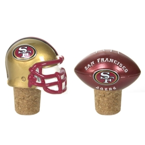 San Francisco 49ers Bottle Cork Set