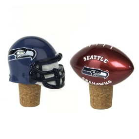 Seattle Seahawks Bottle Cork Set