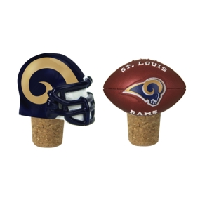Saint Louis Rams Bottle Cork Set