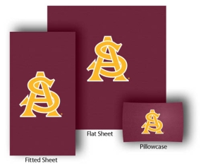 Arizona State Sun Devils Full-Queen Size Sheet Set