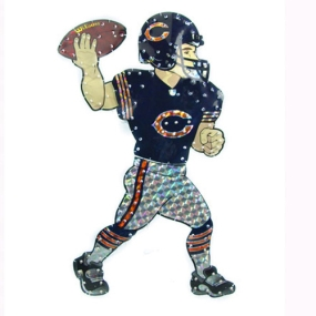 Chicago Bears Animated Lawn Figure