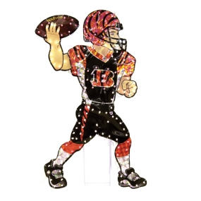 Cincinnati Bengals Animated Lawn Figure