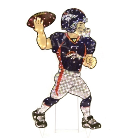 Denver Broncos Animated Lawn Figure