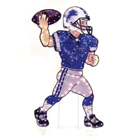 Detroit Lions Animated Lawn Figure