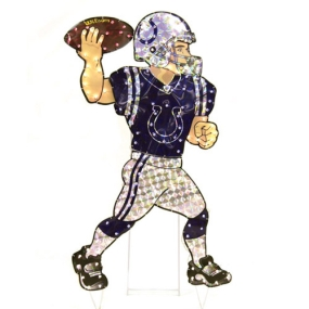 Indianapolis Colts Animated Lawn Figure