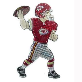 Kansas City Chiefs Animated Lawn Figure