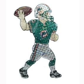 Miami Dolphins Animated Lawn Figure
