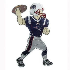 New England Patriots Animated Lawn Figure