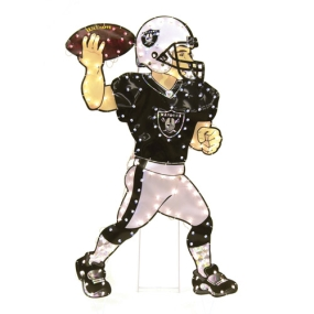 Oakland Raiders Animated Lawn Figure