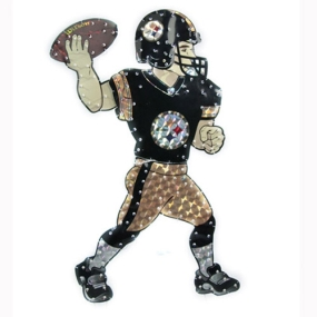Pittsburgh Steelers Animated Lawn Figure