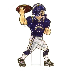 San Diego Chargers Animated Lawn Figure