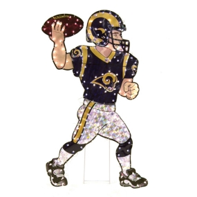 Saint Louis Rams Animated Lawn Figure
