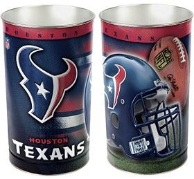 Houston Texans Wastebasket