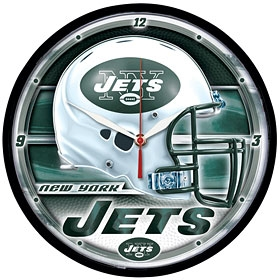 New York Jets Round Clock