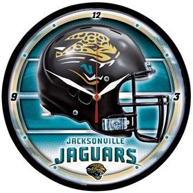 Jacksonville Jaguars Round Clock