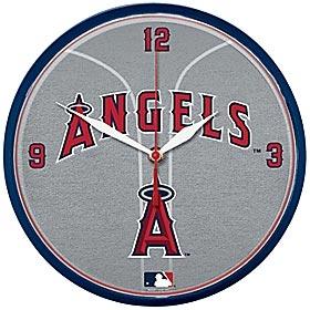 Anaheim Angels Round Clock