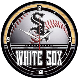 Chicago White Sox Round Clock