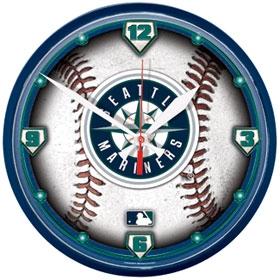 Seattle Mariners Round Clock