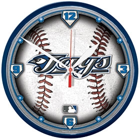 Toronto Blue Jays Round Clock