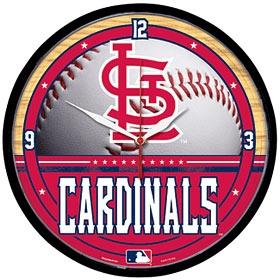 Saint Louis Cardinals Round Clock