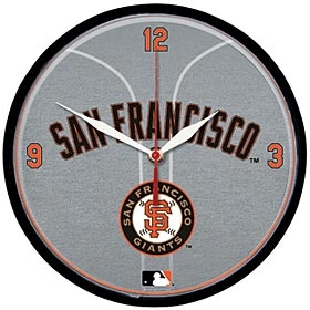 San Francisco Giants Round Clock