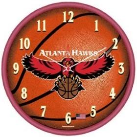 Atlanta Hawks Round Clock
