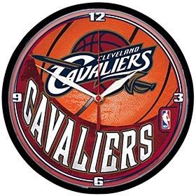 Cleveland Cavaliers Round Clock
