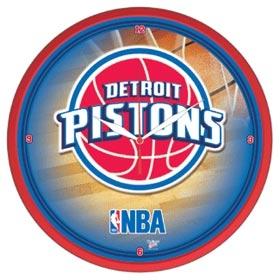 Detroit Pistons Round Clock