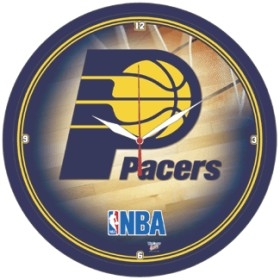Indiana Pacers Round Clock