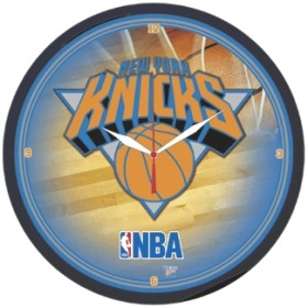 New York Knicks Round Clock