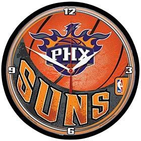 Phoenix Suns Round Clock