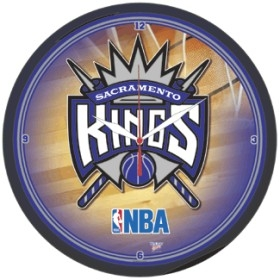 Sacramento Kings Round Clock