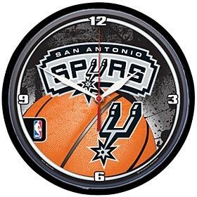 San Antonio Spurs Round Clock