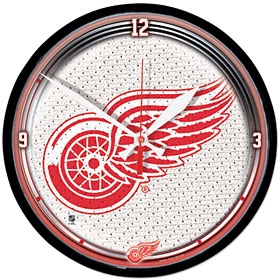 Detroit Red Wings Round Clock