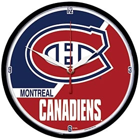 Montreal Canadiens Round Clock