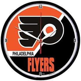 Philadelphia Flyers Round Clock
