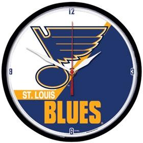 St. Louis Blues Round Clock